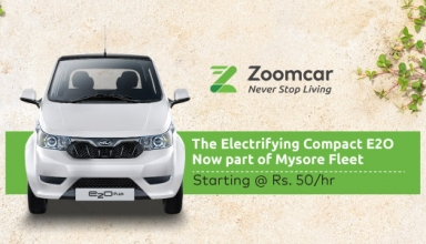 Mahindra Reva E20 Zoomcar